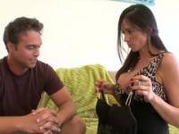 Milf Ariella Ferrera with hot boobies is acting in hard fuck porno video