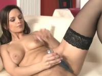 Beauty Emily Addison in masturbation porn