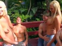 Nadia Hilton, Lexi Swallow and Skylar Price in marvelous reality group action