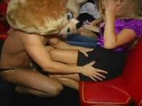 Very Hot partying group porn video