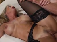 Milf Brandi Love taking part in hard fuck xxx video