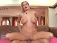 Milf Zoe Holloway with hot big boobs taking part in hard fuck porn scene