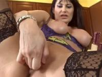 European milf Eva Karera with hot huge boobs taking part in hard fuck porn