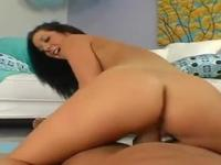 Jayden Jaymes with hot bum taking part in yoga porn scene
