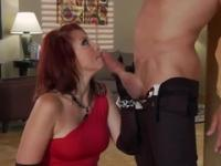 Milf in blowjob xxx action