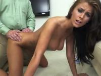 Beauty Whitney Westgate with hot big tits in jizz flow porn video