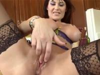 Beauty Eva Karera taking part in close up xxx video