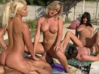 Renato, Tony, Choky, Henessy, Lana, Sunny Diamond, Naomi, Jessica Swan and Butch in hot european amateur group porn action
