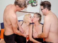 A foursome with Teresa R. and Angelika J.
