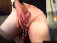 Sexy Cum in Discharged Glass
