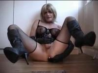 handjob by tranny fetish for the mistress