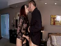 Stockinged chanel preston gets her feet licked