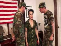 Two soldiers fuck joanna angel