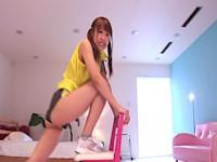 Fit japanese babe pounded doggystyle