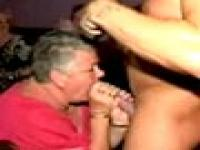 Stripper Attacked By Granny