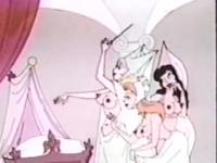 Bugs Bunny's giant carrot and the slutty princesses