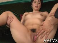 lusty stud delights naughty japanese lass with wild fingering