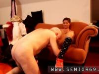 Ugly old granny and redhead makes her pussy cream Latoya makes clothes,