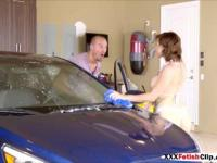 Harlow Harrison in Car Wash Coochie