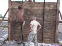 Young military naked penis men gay snapchat Time to deal with the new meat