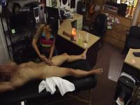 Voyeur jerking off with amateur couple makinglove
