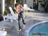 Young gay boy spanking videos paddle hanging out with some of the