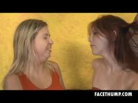 Dirtbags Zara Ryan and Annabelle Havery Get Face Humped