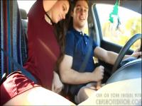 Amateur College Teen Sucking Cock In Car