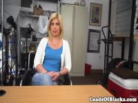 Casting BBC lover facialized at sexaudition