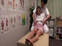 Chisato Ayukawa, Nao Aijima in OL Professional Massage Clinic 15 part 1