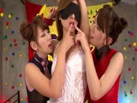 Misa Yuuki, Yui Hatano, Chihiro Hara en Triangle amoureux lesbienne partie 2.1