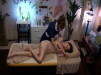 Amateur in Lesbian Erotic Beauty Salon 20 part 4.1