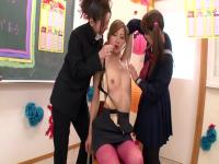 Misa Yuuki, Yui Hatano, Chihiro Hara en Triangle amoureux lesbienne partie 1.2