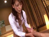 Best Japanese chick Ria Horisaki in Crazy massage, handjobs JAV clip