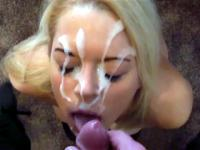 Biggest facial my ex-girlfriend ever took
