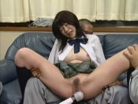 Riria Himesaki in School Girl Confinement.