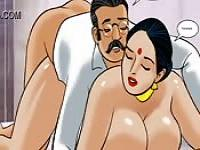 Porn cartoon indienne