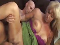 42 year old cougar banged on camera
