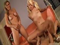 Naughty babysitter three way