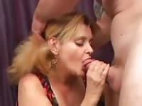 Horny milf Raven pounded