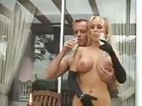 Blonde MILF and her husband