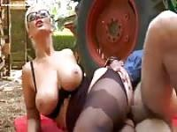 Big tit mom gets fucked