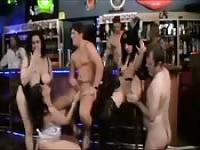 Hot French swingers party