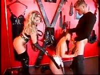 Hottie's hardcore dungeon punishment