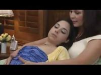 Amazing Mother and daughter lesbian action