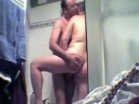 German old lady sucking dick Couple Makes A Sextape In The Shower 2
