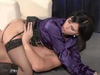 Sexy Euro huzzy in hot lingerie porn video