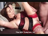 hot mom seduces son after hubby disappoints her
