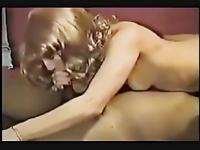 Cuckold Amateur Wife Moaning Anal with BBC