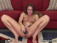 Honey small titted Tori Black having a wonderful time by Masturbating